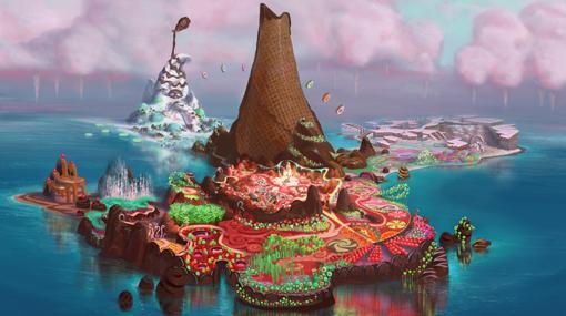 """Primeras imágenes de """"Wreck-It Ralph"""", la nueva cinta de Disney"""