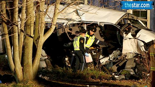 Sobrevivientes de accidente vial en Canadá también son peruanos