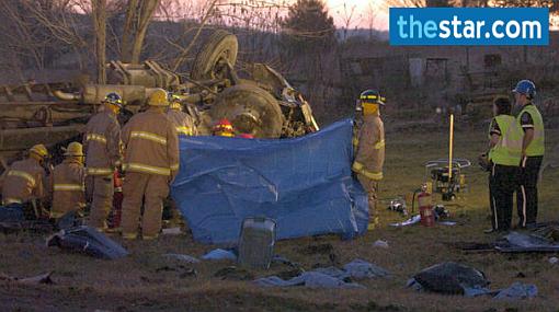 Nueve de los 10 peruanos muertos en accidente en Canadá eran de la misma familia