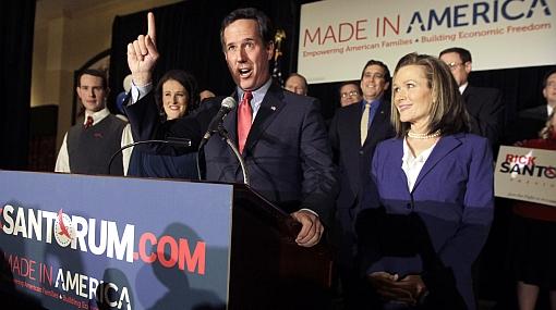 Rick Santorum se retiró de la campaña presidencial en EE.UU.