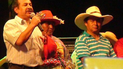 Gregorio Santos admitió que Marcha del agua es política