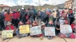 Chumbivilcas en tregua hasta el lunes - Noticias de ernesto balarezo