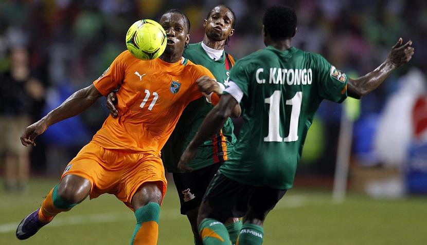 FOTOS: Zambia alcanzó la gloria y Drogba llora su impotencia con todo Costa de Marfil