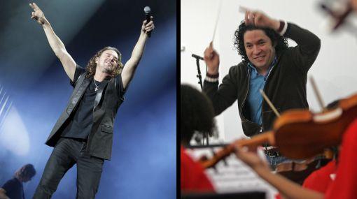 Maná y el venezolano Dudamel ganaron premios Grammy