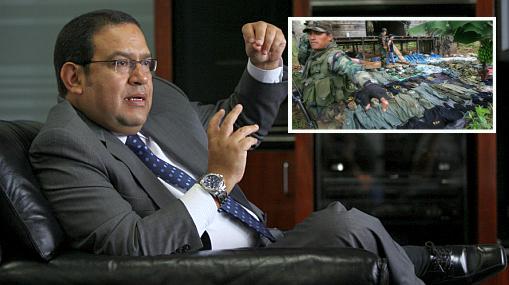 """Ministro de Defensa afirmó que le están cortando las """"venas"""" a Sendero en el VRAE"""