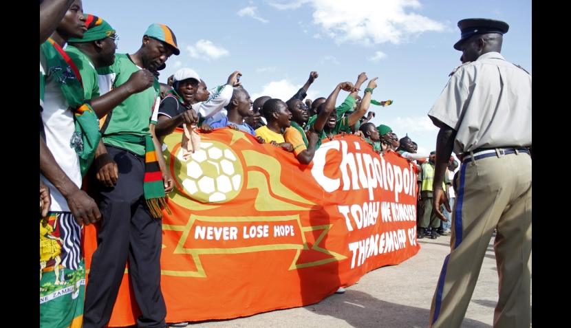 La ofrenda de la selección de Zambia que le valió un título en la Copa Africana