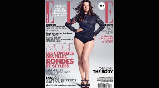 Belleza de proporciones: Tara Lynn, la modelo XXL que rompe esquemas