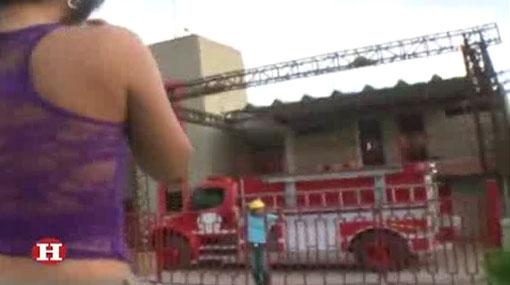 Colombia: bomberos alquilaron su local para grabar película porno