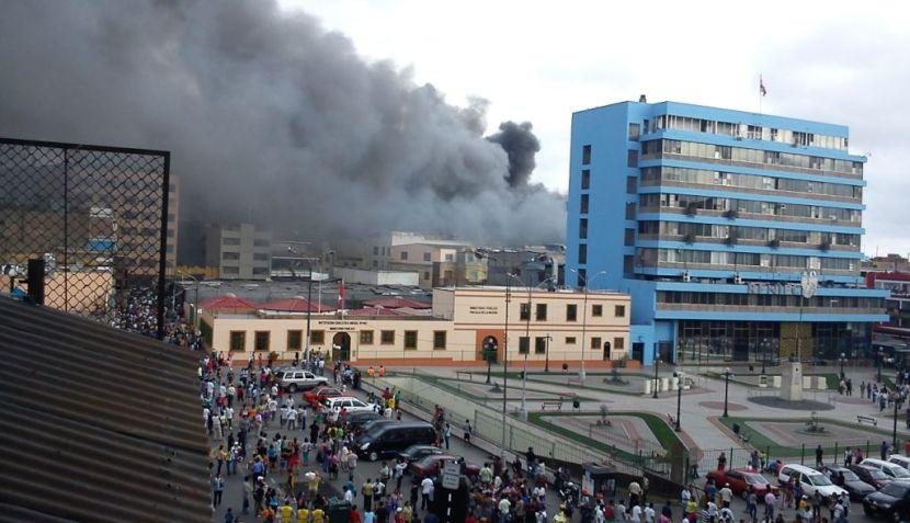 Fotos el Incendio en Mesa