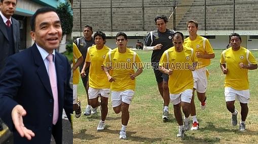 No habrá castigo: Pacheco respaldó a jugadores de la 'U' en huelga