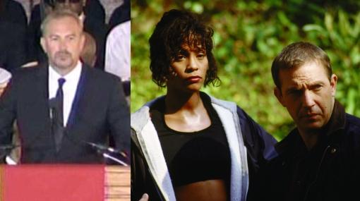 """Kevin Costner tuvo emotiva despedida del """"dulce milagro Whitney Houston"""""""
