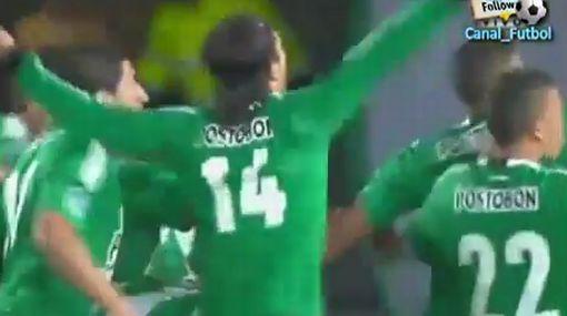 Fano fue expulsado pero Atlético Nacional agarró la punta