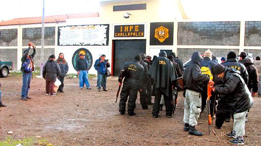 Jefe del INPE confirmó recaptura de cinco fugados de Challapalca