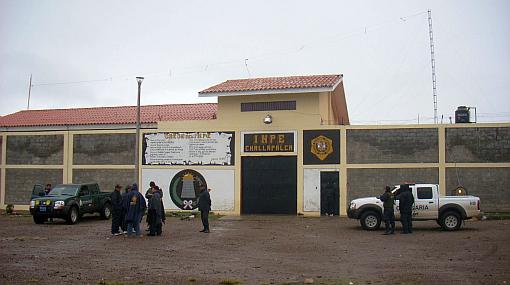 Solo 13 personas custodiaban el penal de Challapalca