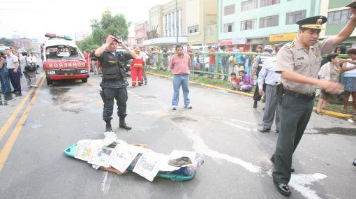 Tres muertos y más de 20 heridos dejaron accidentes en Trujillo y Huaral