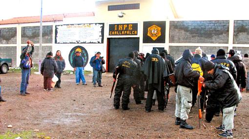Trabajador de penal de Challapalca habría ayudado a presos en fuga
