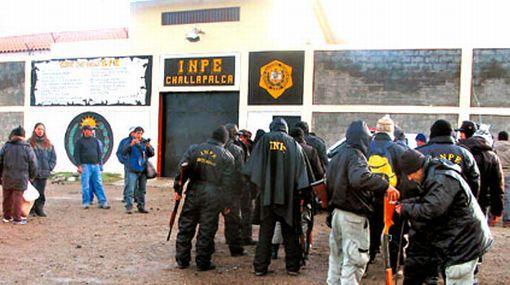 El INPE relevó a todo el personal del penal de Challapalca por fuga