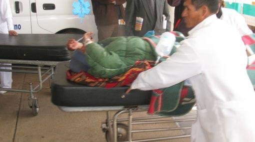 Cuatro recapturados del penal de Challapalca fueron llevados a Puno