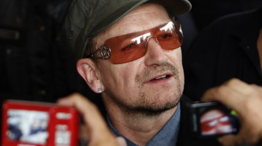 Bono de U2 llegaría esta noche al Perú