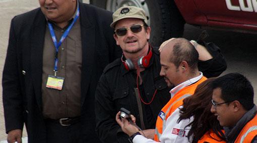Bono inicia hoy su camino hacia Machu Picchu