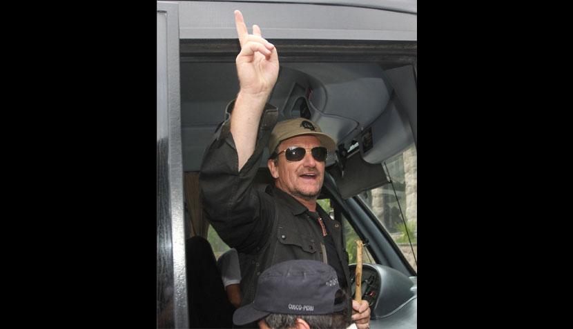 Bono no habría podido escalar el Huayna Picchu