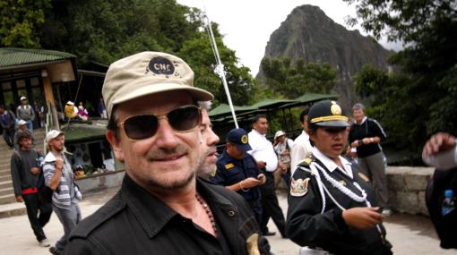 Bono Vox se alista para subir hoy hasta el Huayna Picchu