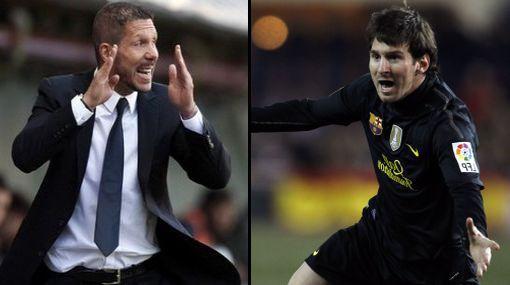 Diego Simeone se rindió ante gol de antología de Messi