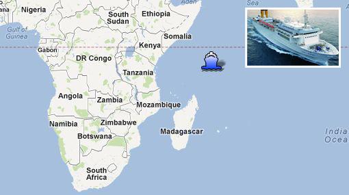 ¿Otro Costa Concordia? Crucero de la misma empresa se incendió y está a la deriva