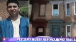 Compatriota murió por salvar a vecinos en un incendio en EE.UU. - Noticias de paro cardiaco