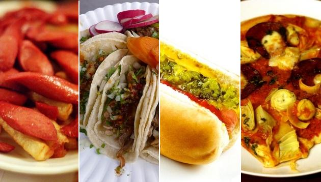 Algunas de las comidas al paso más famosas del mundo
