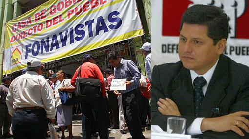 Defensoría pide que fonavistas sean informados sobre devolución