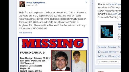 EE.UU.: el drama de una familia peruana que busca a hijo desaparecido