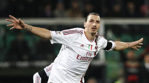 'Hat trick' de Zlatan en goleada 4-0 del Milan sobre Palermo