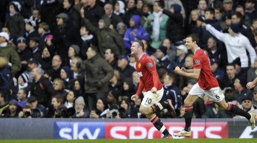 No le pierde el paso al City: Manchester United venció 3-1 al Tottenham