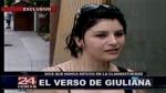 """Giuliana Llamoja: """"Todo el tiempo he estado en mi casa"""" - Noticias de carmen hilares martinez"""