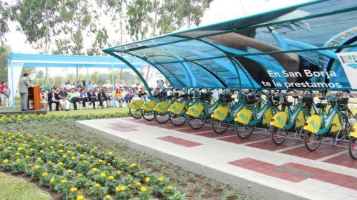 Así funciona el primer programa de préstamo de bicicletas en el país