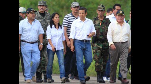 """""""Nadine Heredia cogobierna con el presidente Humala"""", afirmó congresista oficialista"""