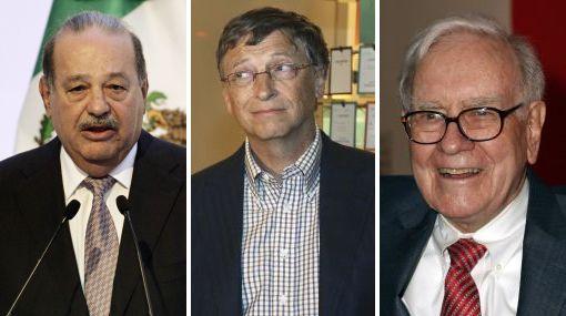 Estas son las personas con más dinero en el mundo, según Forbes
