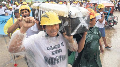 Tranquilidad Para Los Comerciantes: Tranquilidad En Puerto Maldonado En Tercer Día De Paro
