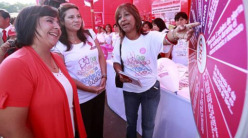 Ministra de la Mujer negó haber amenazado a Humala con dejar el Ejecutivo