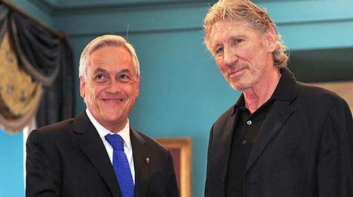 """Roger Waters, """"en estado de shock"""" tras conversar con Sebastián Piñera"""