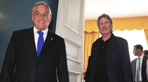 Críticas de Roger Waters a Piñera sorprenden al embajador de Reino Unido en Chile