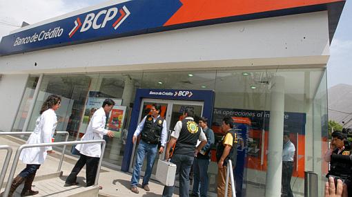Asalto en el Rímac: hampones robaron 22 mil dólares de agencia bancaria