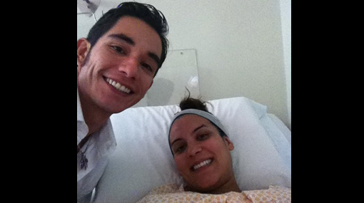 Christopher Gianotti y Úrsula Boza ya son padres