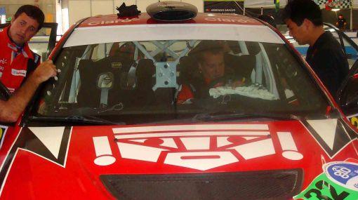 Nicolás Fuchs ya está segundo en el Rally de México