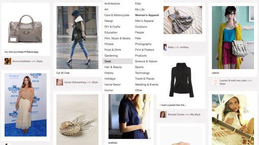 Pinterest genera gran interés en el público femenino estadounidense