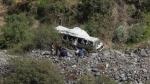 Diecinueve muertos dejó despiste y volcadura de bus en Chachapoyas - Noticias de jorge granillo