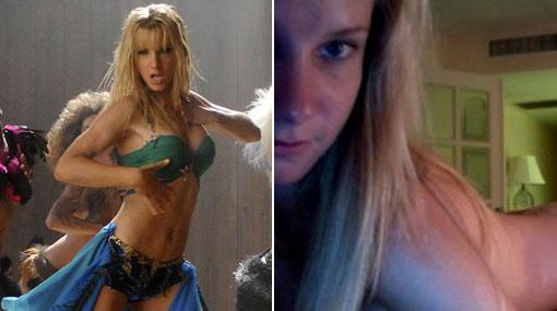 """Filtran fotos desnuda de estrella de """"Glee"""" Heather Morris"""