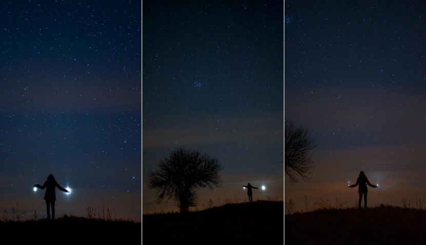 FOTOS: así se vio la conjunción de Júpiter y Venus en diversas partes del mundo