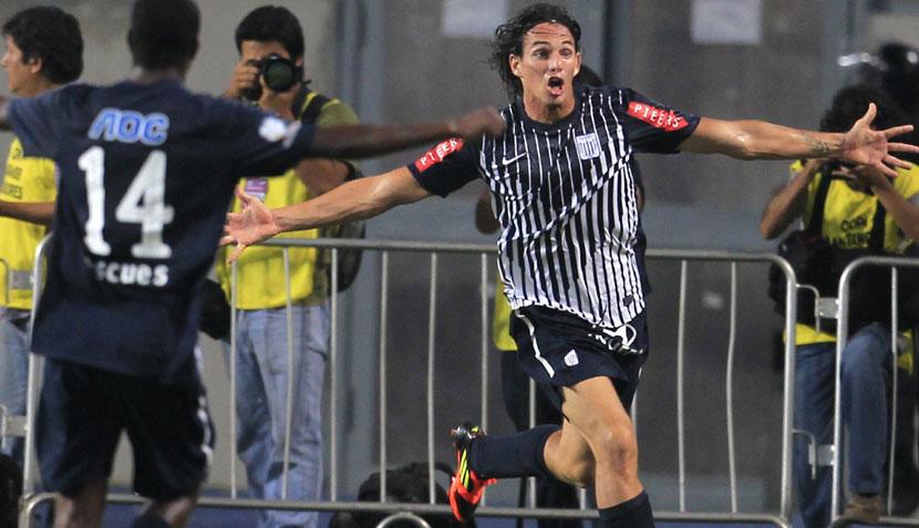 FOTOS: la eufórica celebración de 'Zlatan' Fernández en el triunfo de Alianza Lima